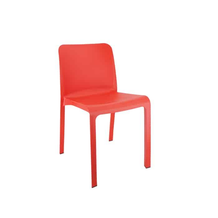 Pack 6 sillas Grana rojo